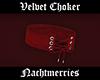 𝖓. Red Velvet Choker