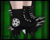 P| Ouija/Pentagram Black