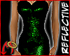 Metal Dress Green