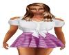 Prpl/Wht Summer Dress