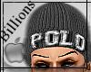 !B!Polo Beanie Grey