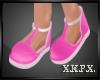-X K- Kid Pink Sandals
