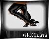 Glo*AngelWingsBoots~Blac