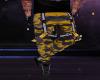 Camo yellow pants