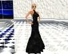 Lowback velvet gown
