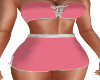 Dusty Rose Short Outfit