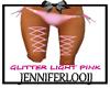 JL;Glitter Pink Garters