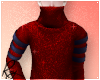 Red Sparkle Ninja Top