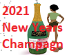 2021 New Years Champagne