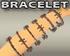 Rusty Wire Bracelets
