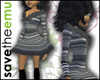 [E] WinterDress TOP Grey