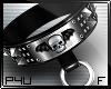 -P- Studs Skull Collar F