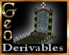 Geo Tombstone w grave de