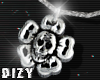Skelly Flower Necklace