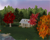 Vermont fall cabin