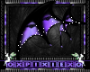 lilac & black wings