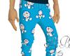 DoraEmon pajama bottom
