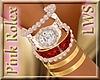 Pink Rolex Pearl Bangles