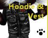 Hoodie&Vest Male