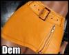 !D! Leather Skirt RL
