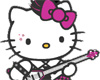 Hello Kitty Punk Rocker