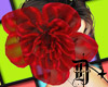 D+ Flower Headdres RED