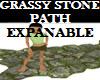 Grassy Stone Path