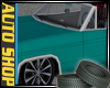 ANIMATED TEAL CHEVY