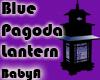 BA Blue Pagoda Lantern