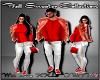 D- Fall Sweater Red XXL