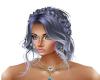 Hair Silver Blue Lizzy