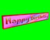 [AR] birthday banner