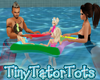 Family Pool Float