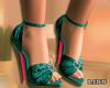 J   Emerald Green Heels