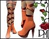 [PBM] Orange Ribbon Shoe