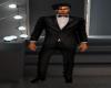 Full  Black Tie Suit