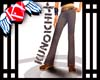houndstooth gray pants
