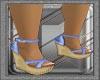 Ibiza's Blue Sandals