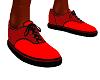 Red & black Vans