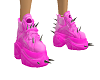 Pink Spike SHoes