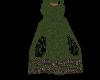 (DL) Drk Grn Fem shawl