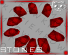Stones Red 1a Ⓚ