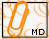OrangePaperclip M/F {MD}