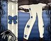 LK~Bow Stockings-Navy