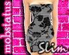 [MJ] Floral SLIM Dress 3