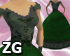 Victorian Dress Green