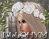 ~E- Rose Crown White