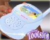 Baby Monitor Hand Blue