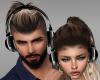 Couple Headphones F