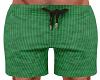 Green Beach Trunks
